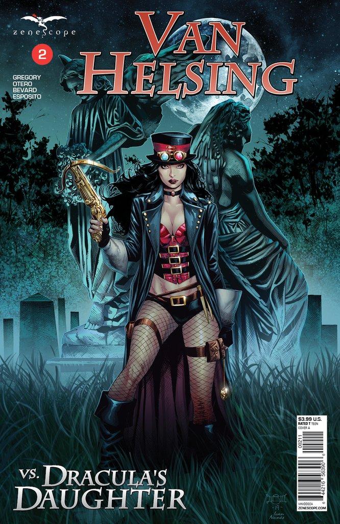 Van Helsing Comic Poster