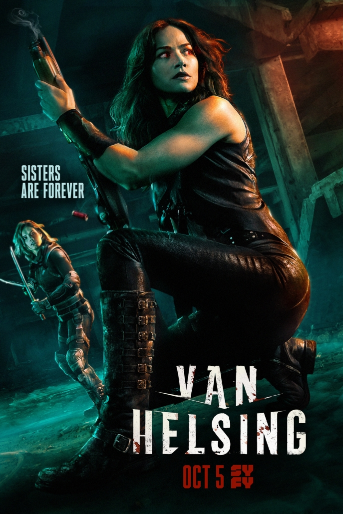Van Helsing Fan Series Poster 2