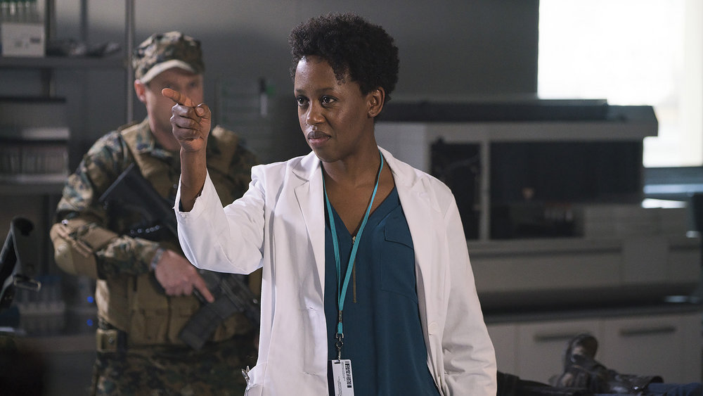 Rukiya Bernard as Doc