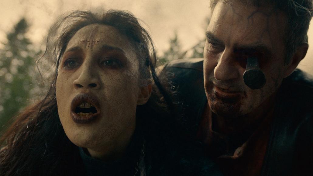 Van Helsing S03E04 rusty cage ivory scarhead